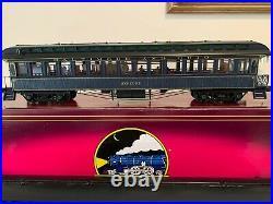 MTH 20-3594A & 62025 B&C Baltimore & Ohio 64' Woodsided Passenger Car Set NIB