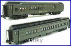MTH 20-4133 O Pullman 70' Madison Combine/Diner Passenger Car Set (Set of 2) LN