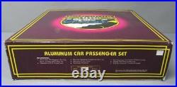 MTH 20-6019 O Union Pacific 60' Aluminum Passenger Car Set (Set of 4) EX/Box