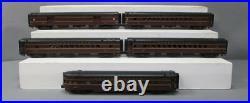 MTH 20-65043 O Pennsylvania 70' Streamlined ABS Passenger Car Set (Set of 5) LN