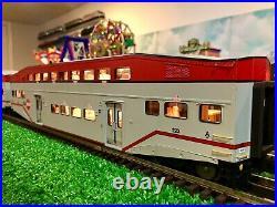 MTH 20-65203 Premier CalTrain 4-Car Bombardier Passenger Set Gauge