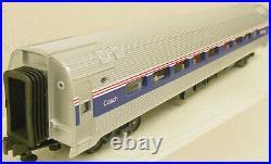 MTH 20-6531 O Amtrak Amfleet Passenger Car Set (Set of 4) LN/Box