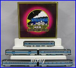 MTH 20-6534 EMD 70' Streamlined Smooth Sided Passenger Car Set EX/Box