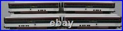MTH 20-6578 O Amtrak Northwest SuperLiner Passenger Car Set (Set of 4) LN/Box