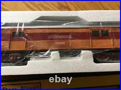 MTH 30-6090 Milwaukee Streamlined Passenger -4 Car Set -O27