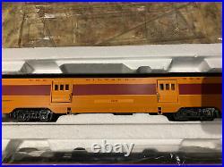 MTH 30-67240 Railking Milwaukee Road 4 Car 60' Streamlined Passenger Car Set -O
