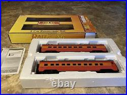 MTH 30-67273 Southern Pacific Streamlined 60 Sleeper/Diner -2 Car Passenger Set