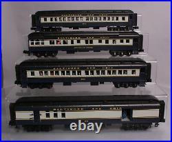 MTH 30-69058 O Baltimore & Ohio 60 Madison Passenger Car Set
