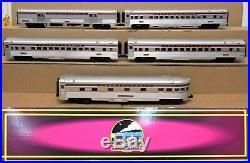 MTH Premier 20-65243 PRR/Pennsylvania 70' Ribbed ABS 5-Car Passenger Set O-Gauge