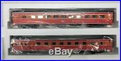 MTH Premier 20-6623 SP/Southern Pacific 2-Car Add-On Passenger Set O-Gauge LN