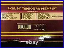 MTH Premier Canadian Pacific (Royal Tour) 5-Car Madison Passenger Set
