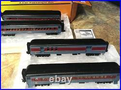 MTH Railking Christmas NORTH POLE -4 Car 60 Madison Passenger Set