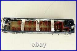 MTH Standard Gauge Tinplate Baltimore & Ohio Blue Comet 4 Car Passenger Set