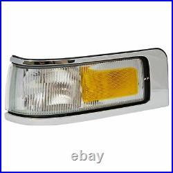 Marker Signal Blinker Corner Parking Light Lamp Pair Set for 95-97 Town Car