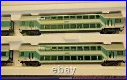 Marklin 43580 HO Scale DB Double Bi-Level Passenger Car Set Original Box