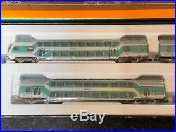 Marklin spur z scale/gauge Double Deck Passenger Car Set. MHI