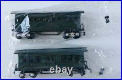 Marx Trains O T Passenger Tca Convention Baggage And Coach 2 Car Set Mint