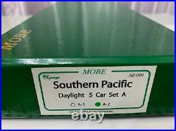 More LIK Brass Southern Pacific Daylight 5 Car Passenger Set A-2 (AP-001)