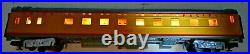 Mth 20-6638 Union Pacific 70' Smooth Abs 2-car Sleeper/diner Passenger Set Lnib