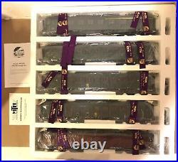 Mth O Gauge 20-60026 5-car European Passenger Set Nib