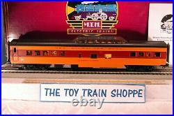 Mth Premier 20-64075 Milwaukee Road 70' Streamlined Passenger 4-car Set. New Ib