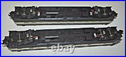 Mth Premier 20-6613 Baltimore & Ohio 2 Car Sleeper / Diner Passenger Car Set Ob