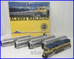 Mth Premier Alaska Mckinley Explorer Set Diesel Engine Passenger Cars 20-2290-1