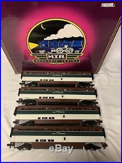 Mth Premier Amtrak Cascade Northwest Superliner 4 Car Passenger Set 20-6578