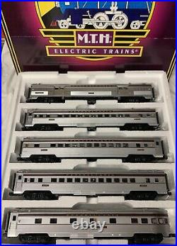Mth Premier Pennsylvania Congressional 5 Car Streamlined Passenger Set 20-6530