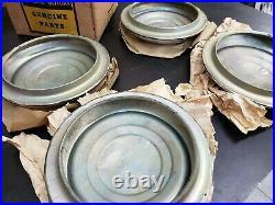 NOS GM 1951-53 Chevy Passenger Car Center Hub Cap Wheel Covers Set of 4 3696493