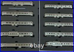 N-SCALE 55000 Rapido Canadian 10-Car Passenger Set Canadian Pacific Maroon Set 1