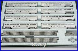 N Scale KATO 106-075 ATSF Santa Fe El Capitan 10-Car Passenger Set