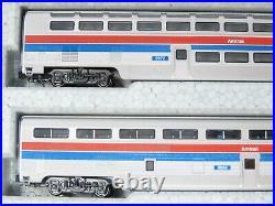 N Scale Kato 106-079 Amtrak El Capitan 10-Car Passenger Set with Display UniTrack