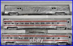 New Weaver Gold Edition 5-Car Aluminum Passenger Santa Fe AT & SF Set