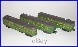 Nice! Set of (3) Lionel O Gauge Passenger Cars 2400, 2401 2402 (DAKOTApaul)