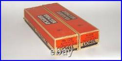 Nice Set of (4) Lionel Aluminum Passenger Cars 2531 2532 2532 2534 OB DAKOTApaul
