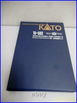 ORIENT EXPRESS'88 KATO N scale 10-562 PASSENGER CAR 6CAR SET