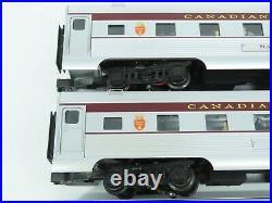 O Gauge 3-Rail K-Line 4618 Aluminum Canadian Pacific Passenger 4-Car Set