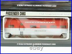 O Gauge 3-Rail K-Line K4632A Aluminum KCC Golden State 4-Car Passenger Set
