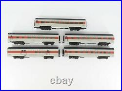 O Gauge 3-Rail K-Line Steel K4638A Lackawanna Phoebe Snow Passenger 5-Car Set
