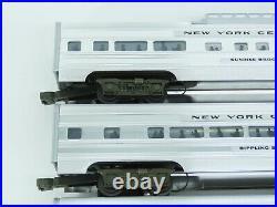 O Gauge 3-Rail Williams 2605 Aluminum NYC New York Central 5-Car Passenger Set