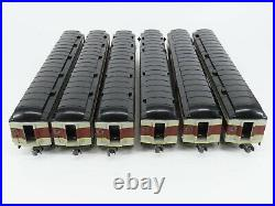 O Gauge K-Line K44251 EL Erie Lackawanna 3-Rail Heavyweight Passenger 6-Car Set