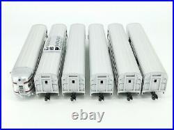 O Gauge Lionel Aluminum 3-Rail PRR Pennsylvania Illuminated 6-Car Passenger Set