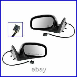 Power Heated Mirrors Left LH & Right RH Set Pair for 98-02 Lincoln Town Car