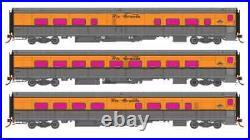Rapido HO 131202 Denver and Rio Grande Ski Train D&RGW 3 Car Set Set #2