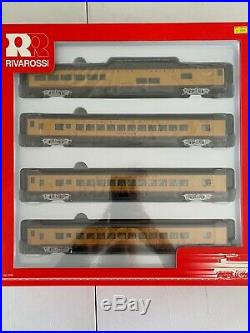 Rivarossi HO Union Pacific Passenger Car Set 3 Coaches + Observation R6997