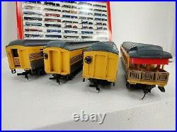 Rivarossi Ho 6921 B Set 4 Passenger Cars 1920s Rio Grande New