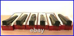 Rivarossi Ho Scale 6 Passenger Cars 2335 2340 50th Anniversary Nmra Set Ob