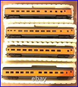 Rivarossi Ho Union Pacific Passenger 4 Car Set 6820-6823 Ob