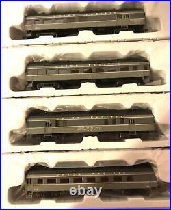 Roundhouse Ho Union Pacific Passenger 4 Car Set 86504 86544 86584 86604